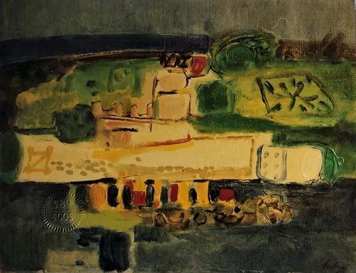 Enrico PAULUCCI - Gemälde - Paesaggio astratto
