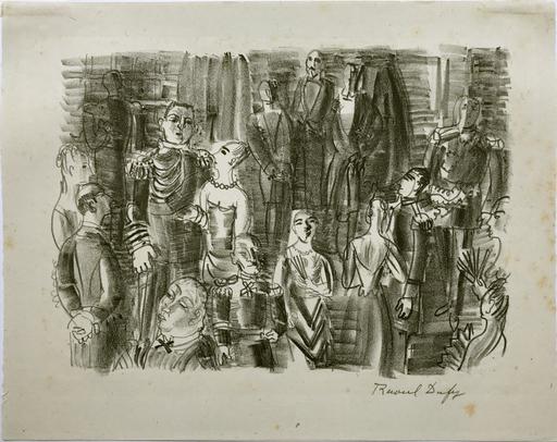 Raoul DUFY - Estampe-Multiple - Le Bal chez L'Amiral