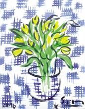 Stefan SZCZESNY - Pittura - Bouquet