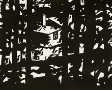Alex KATZ (1927) - Maine Woods III