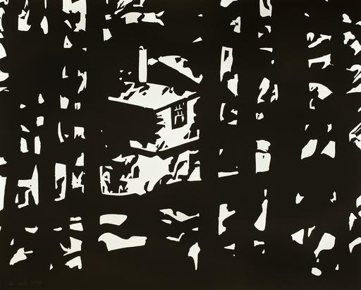 Alex KATZ - Grabado - Maine Woods III