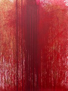 Hermann NITSCH - Painting - Schüttbild (Archiv: HF_07_18)
