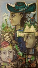 James COIGNARD - Painting - portraits