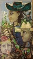 James COIGNARD - Peinture - portraits
