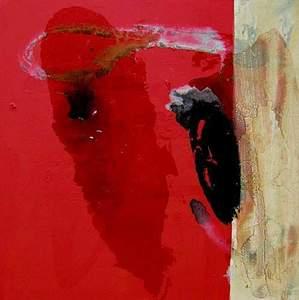Tony SOULIÉ - Pintura - Red grape abstraction