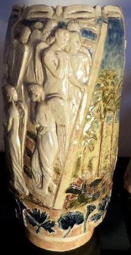 Sigrid Af FORSELLES - Cerámica - L'échelle de Jacob