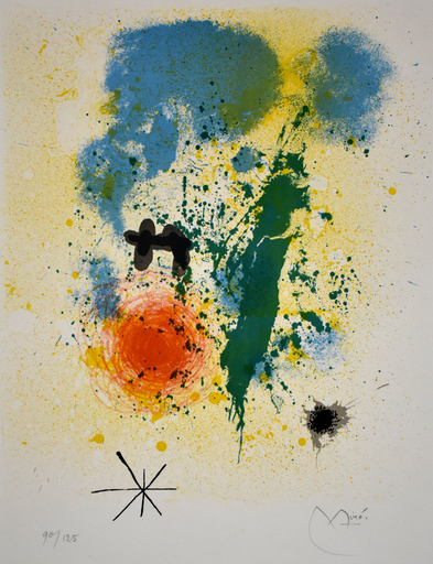 Joan MIRO - Grabado -  Preface, from: 52 Affiches