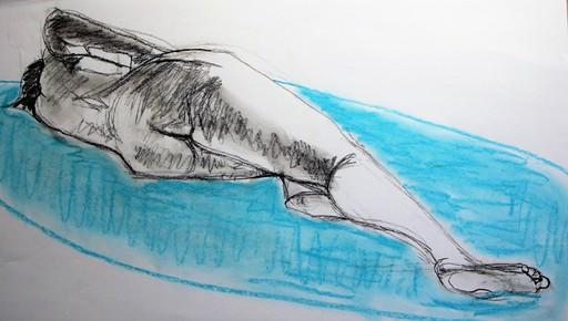 R.CAVALIÉ - Drawing-Watercolor - N.R. 142