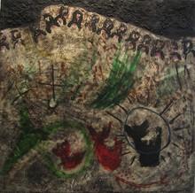 Jorge PIQUERAS - Peinture - Composizione, Paris