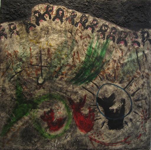 Jorge PIQUERAS - Painting - Composizione, Paris