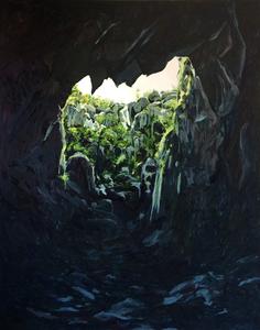 Bruno GADENNE - Pintura - L'effondrement