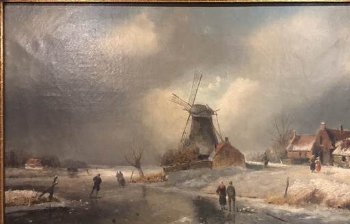 Jan Jacob SPOHLER - Gemälde - Winter Sommer