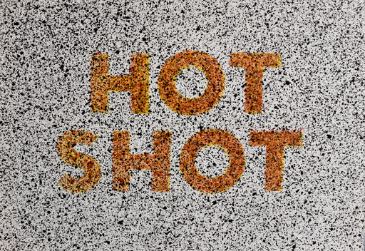 Ed RUSCHA - Grabado - Hot Shot, from: Eighteen Small Prints