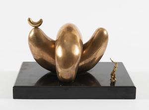 Salvador DALI - Sculpture-Volume - Le yin et le yang
