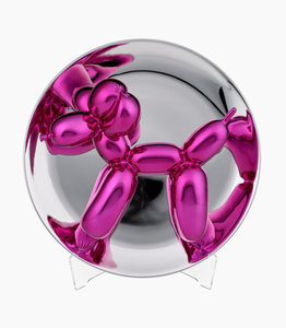 Jeff KOONS - Sculpture-Volume - Balloon Dog Magenta