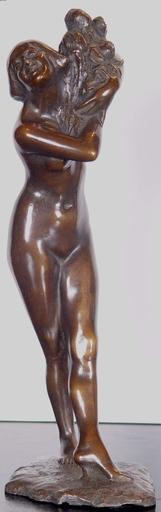 Vincenzo AURISICCHIO - Escultura - Nude Flower Girl