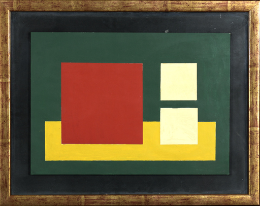 Mauro REGGIANI - Painting - Composizione