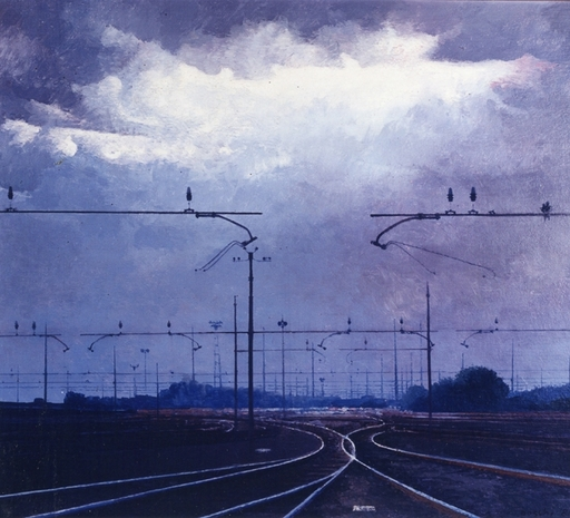 Dino BOSCHI - Pittura - Nuvole, 1986