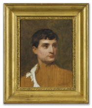 Gustave COURTOIS - Painting - Male Portrait