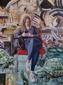Eric HUBBES - Painting - Anastasia