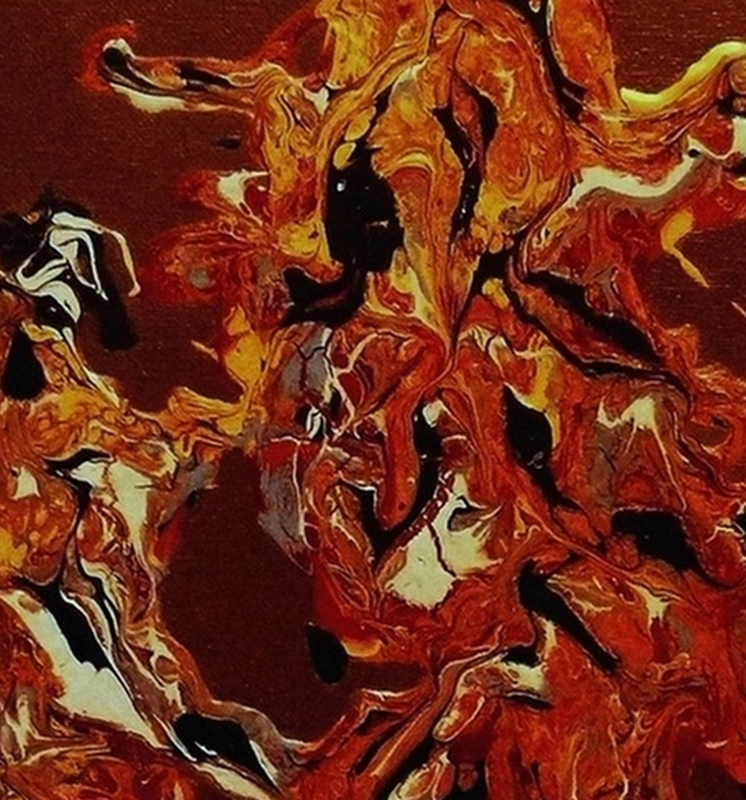 NADIA - Peinture - DANSE DOGON