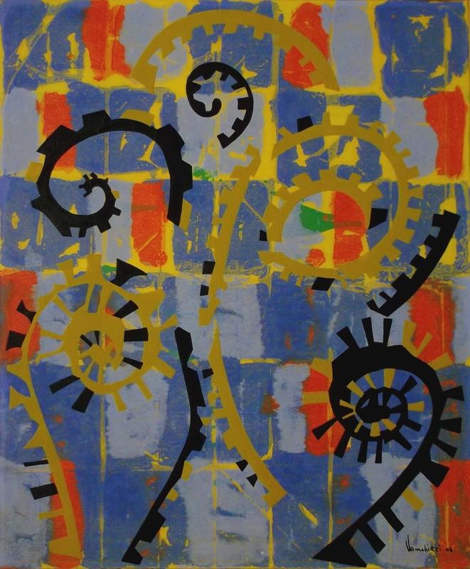 Carlo VANCHIERI - Peinture - Tictac