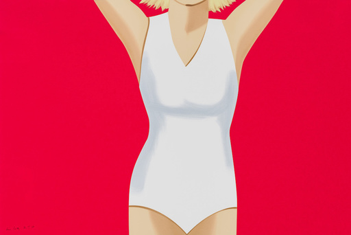 Alex KATZ - Print-Multiple - Coca Cola Girl 2 (Portfolio of 9)