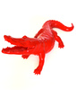 Richard ORLINSKI - Sculpture-Volume - Crocodile Rouge - Born Wild