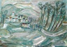 Pinchas ABRAMOVICH - Gemälde - Landscape