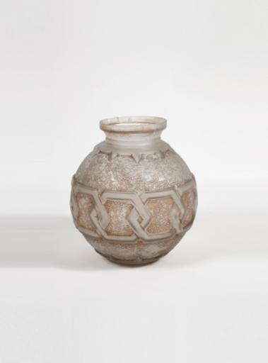 DAUM FRÈRES - Important vase boule