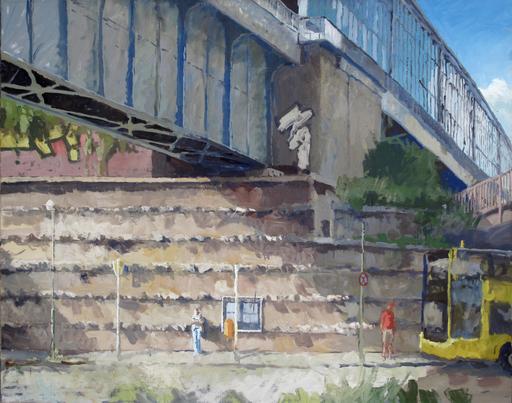 Frank SUPLIE - Pittura - Berlin, S-Bahnhof Schöneberg