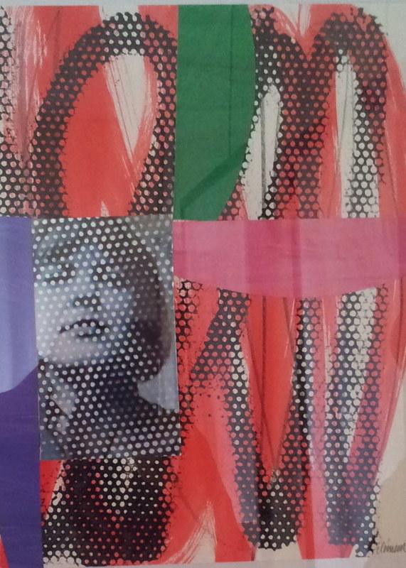 Alain CLÉMENT - Painting - Composition