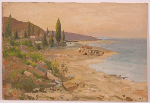 "Alexander D. CHEMISOV - Peinture - ""Coastal Scape"" by Alexander Chemisov"
