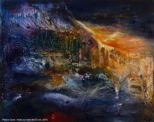 Danielle MAILLET-VILA - Pittura - Plato's Cave