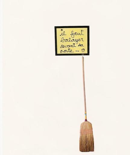 BEN - Pittura - il faut balayer devant sa porte