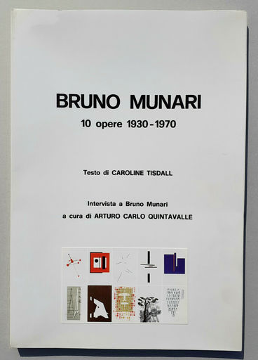 "Bruno MUNARI - Estampe-Multiple - ""10 opere 1930-1970"""