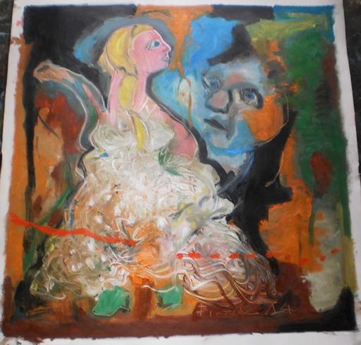Bernard MOREL - Painting - CENDRILLON