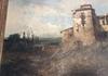 José VILAR Y TORRES - Painting - Paisaje con Caserón