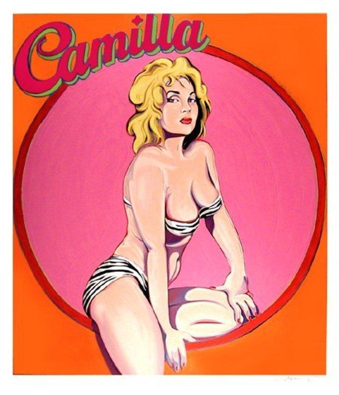 Mel RAMOS - Druckgrafik-Multiple - Camilla