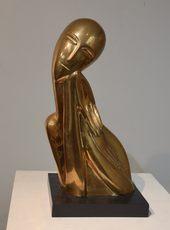 Ossip ZADKINE - 雕塑 - Buste de Jeune Fille