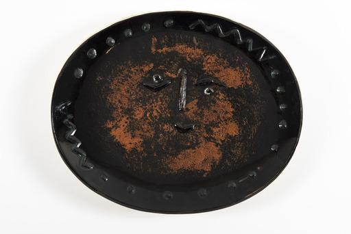 Pablo PICASSO - Keramiken - Visage dans un ovale (A.R.275)