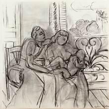 亨利·马蒂斯 - 版画 - Maternidad
