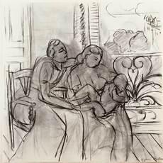 Henri MATISSE - Radierung Multiple - Maternidad