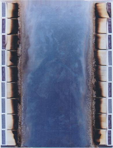 Bernard AUBERTIN - Pintura - boites d'allumettes brulées