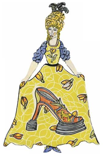 Moritz GÖTZE - Sculpture-Volume - Rokoko - La chaussure de dame