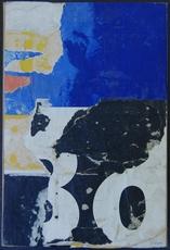 Jacques VILLEGLÉ - Peinture - Rue Pavée