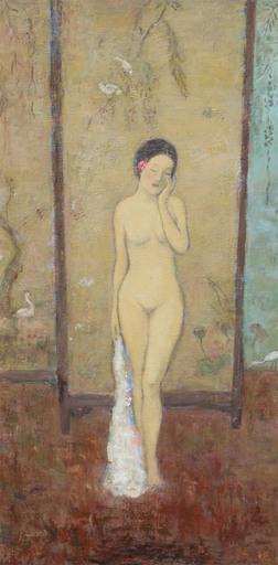 JIA Juanli - Peinture - Melle Wang Jing