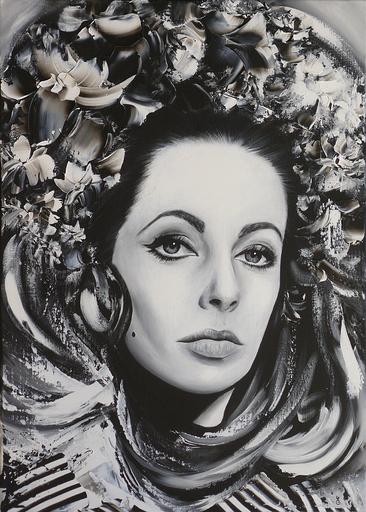 Estelle BARBET - Peinture - Elizabeth