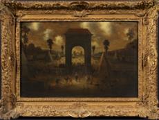 Jan Christiansz. MICKER - Painting - Der breite Weg