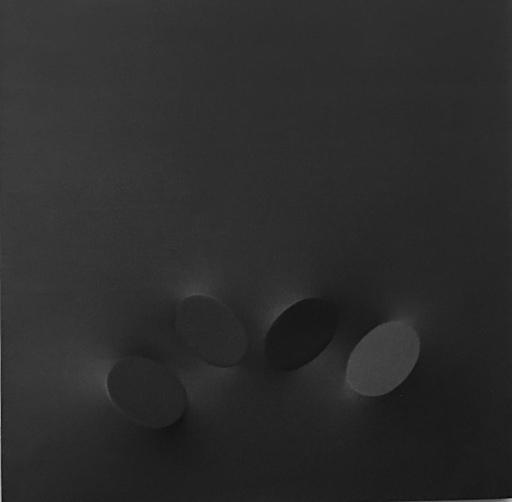 Turi SIMETI - Gemälde - Quattro ovali neri
